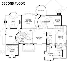 di medici place castle house plan luxury house plan