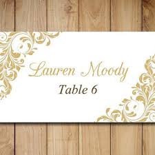 14 best images of printable place cards for wedding reception