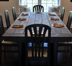 How To Build A Farmhouse Bench Dining Room Mesmerizing Farm Dining Room Table Kristen Farmhouse