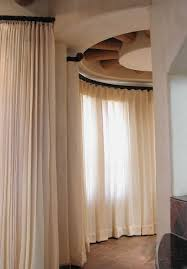 accessories curved window curtain rod in elegant window