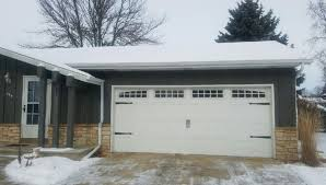 Shed Overhead Door by Raynor Aspen Series Installed By The Professionals At Midwest