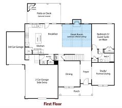 three car garage floor plans avalon chafin communities
