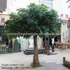 q011513 plastic banyan tree bonsai ornamental live ficus tree