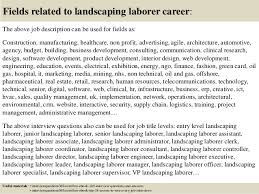 Landscaping Job Description For Resume by Top 10 Landscaping Laborer Interview Questions And Answers