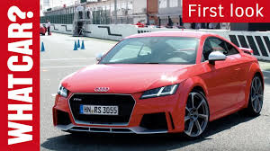 audi sports car audi tt rs review 2017 what car