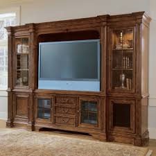 living furniture rustic wooden tv stand room divider for classic