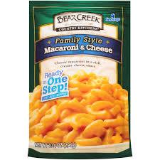bear creek mac u0026 cheese family style 10 4 oz walmart com