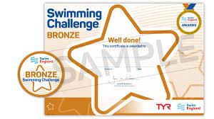 ft to meters swim england swimming challenge awards