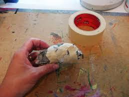 that artist woman paper mache birds