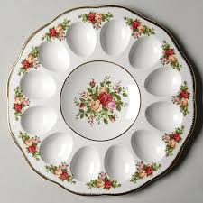 egg plate just in time for easter deviled egg plates at replacements ltd