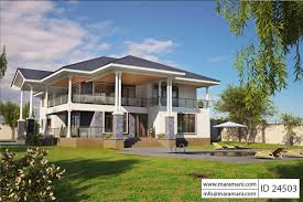 Single Storey Four Bedroom House Plan 4 Bhk Home Design One Story Ranch Style House Plans Luxury Bedroom