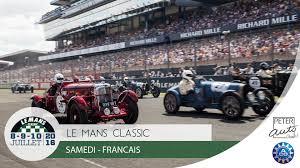 Resume Francais Le Mans Classic 2016 Résumé Samedi Français Youtube