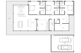 Modern Floor Plans For Homes Modern House Ch163 In Contemporary Style House Plan