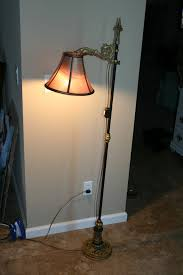 Vintage Brass Floor Lamp Old Vintage Brass Floor Lamp All About House Design