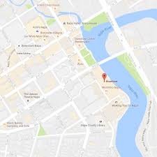 Map Of Napa Napa U0027s Riverfront World Class Dining Shopping And Hotels In
