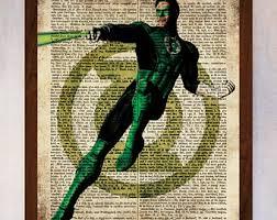 green lantern etsy