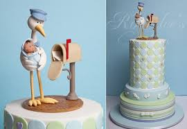 stork cakes for baby shower parties cake geek magazine