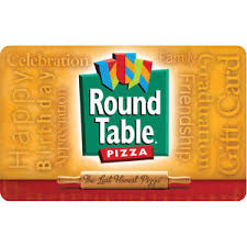 does round table deliver round table pizza gift card 25 50 or 100 email delivery ebay