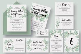 wedding invitation bundles 90 gorgeous wedding invitation templates design shack