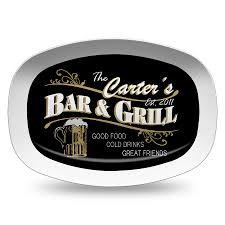 grill platter personalized personalized melamine bar platter personalized serving