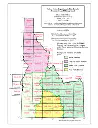 Grid Map Maps Frequently Requested Idaho Bureau Of Land Management