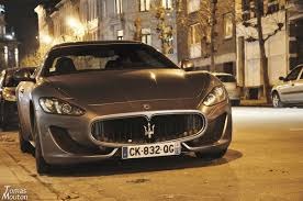 grey maserati granturismo maserati granturismo sport 2013 revs and acceleration youtube