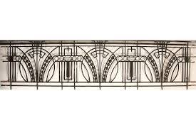 art deco balcony art deco wrought iron balcony panel with returns circa 1920