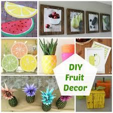 diy fruit decor organize and decorate everything