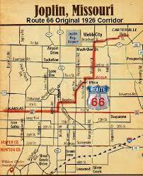 joplin mo map joplin on route 66