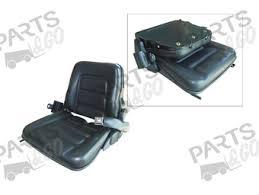 siege chariot elevateur sièges type gs12 accessoires pour chariots élévateurs