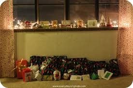 our christmas window sill