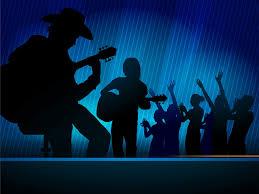 music concert powerpoint slides ppt backgrounds black blue