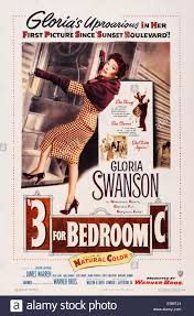 three for bedroom c aka 3 for bedroom c us poster art gloria