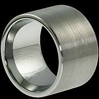 Tungsten Carbide Mens Wedding Rings by Forever Metals 16mm Europa Wedding Band In Mens Brushed Tungsten