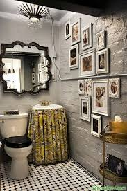 funky bathroom wallpaper ideas extraordinary 225 best mirror images on mirrors live and