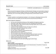 sample resume for experienced web designer gallery creawizard com
