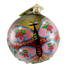 s world butterfly kite glass ornament sbkgifts