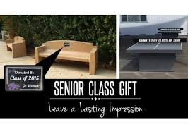 Picnic Benches For Schools Senior Class Gift Or Donation Ideas Donate Something Usable For