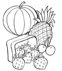 coloring pages fruit and vegetables picture 6