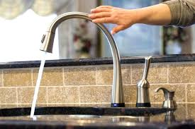 kitchen sink and faucet ideas touchless kitchen sink faucet clickcierge me