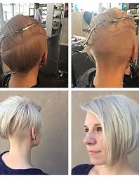 layered buzzed bob hair best 25 shaved bob ideas on pinterest side cuts side shave bob