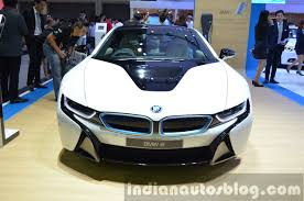 Bmw I8 Front - 2015 bmw i8 front at the 2014 thailand motor expo indian autos blog