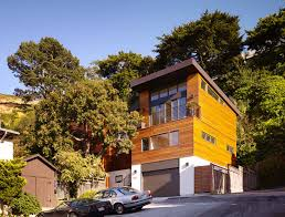 modern home nestled into the hillside of cole valley california modern home nestled into the hillside of cole valley california
