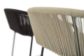 Armchair Cricket Contemporary Bar Chair Aluminum Synthetic Fiber Commercial