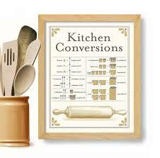 tableau de conversion pour cuisine tableau de conversion pour impression dart cuisine cuisson