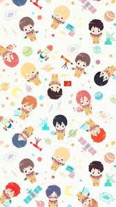 anime wrapping paper free chibi kawaii wallpaper pic anime steunk