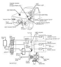 can you show me a diagram of the actuator on the toyota t100 1996