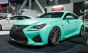 lexus is f sport coupe lexus f s up sema with trio of modified rc coupes car and