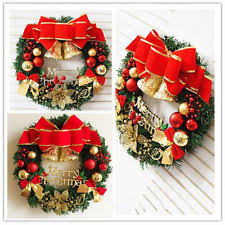 Christmas Wreath Decorations Wholesale Uk by Christmas Wreaths Ebay