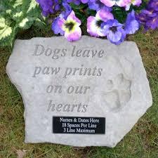 memorial stones for dogs dog stones pet stones pet memorial pet grave marker